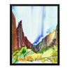 Let Your Zion Wander I - Landscape Art Print
