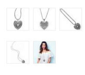 Brighton MUMTAZ Heart Convertible Necklace - Princess Boutique Shop