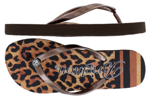 Brighton Cat Walk Flat Flip Flops Limited Edition