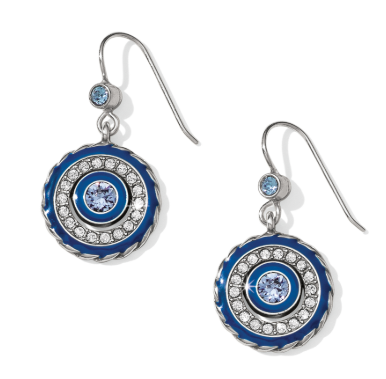 Brighton Halo Eclipse French Wire Earrings