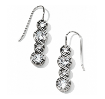 Brighton Infinity Sparkle French Wire Earrings