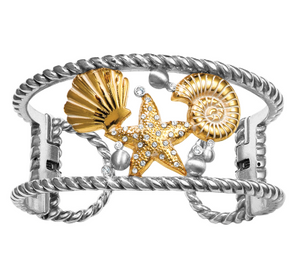 Brighton Sea Dreamer Double Hinged Bangle