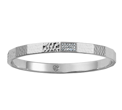 Brighton Meridian Zenith Faceted Bangle