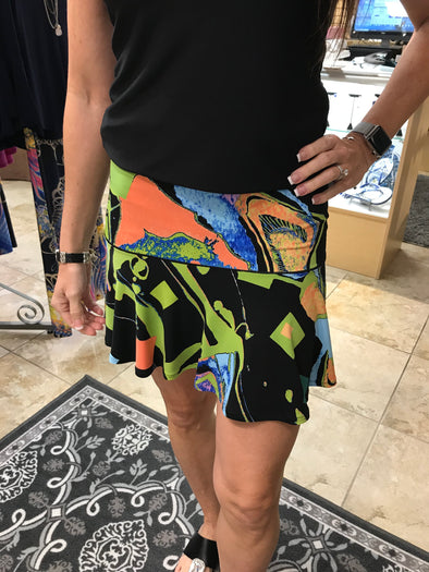 Eva Varro Flair Skirt or Can Be  Worn as a Top