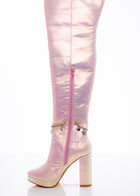 Pink Fairy Star High Boot