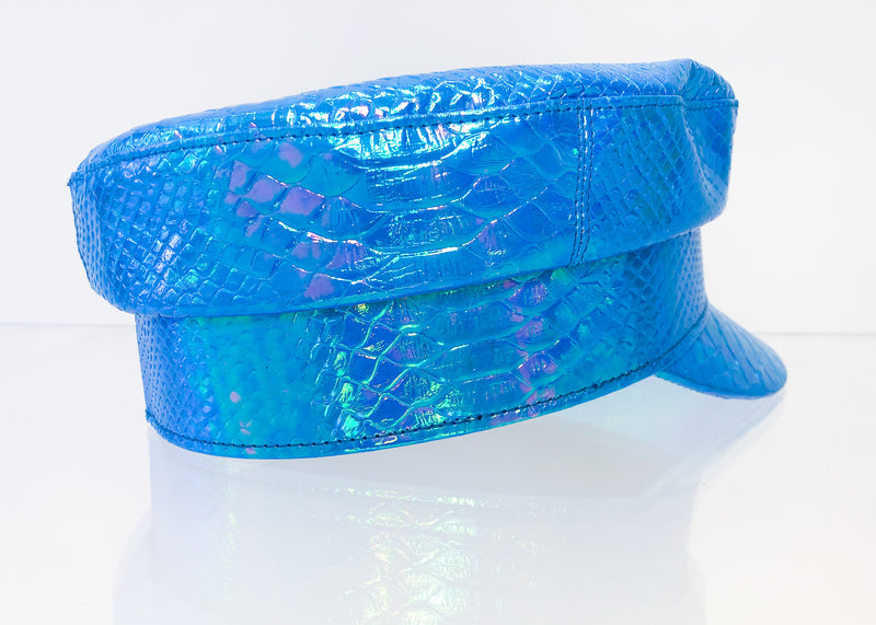 Blue Snake Posh Bae Hat