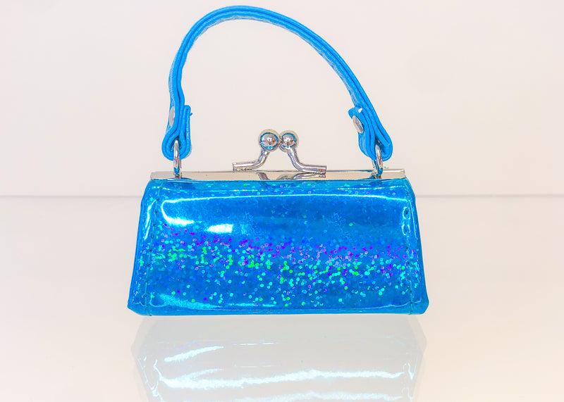 Blue Mini Purse
