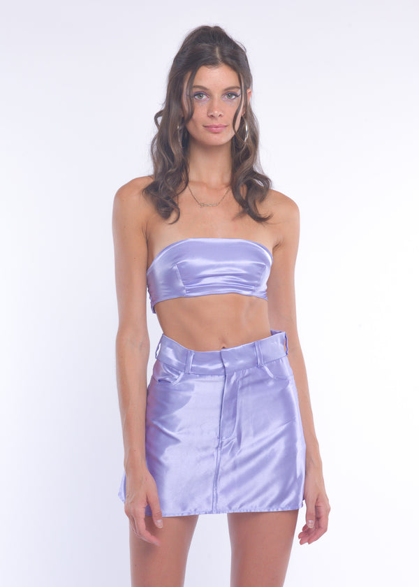 Lilac Silky Fairy Skirt
