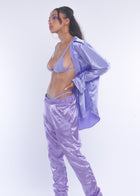 Lilac Silky Sweat Pant