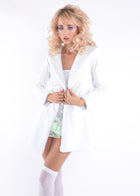 White Princess Pop Coat