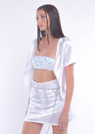White Silky Fairy Skirt