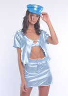 Blue Silky Fairy Skirt