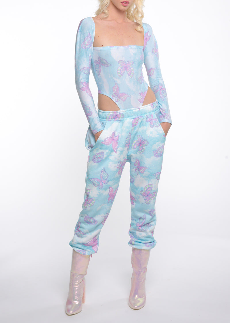 Hottie With a Body Butterfly Onesie