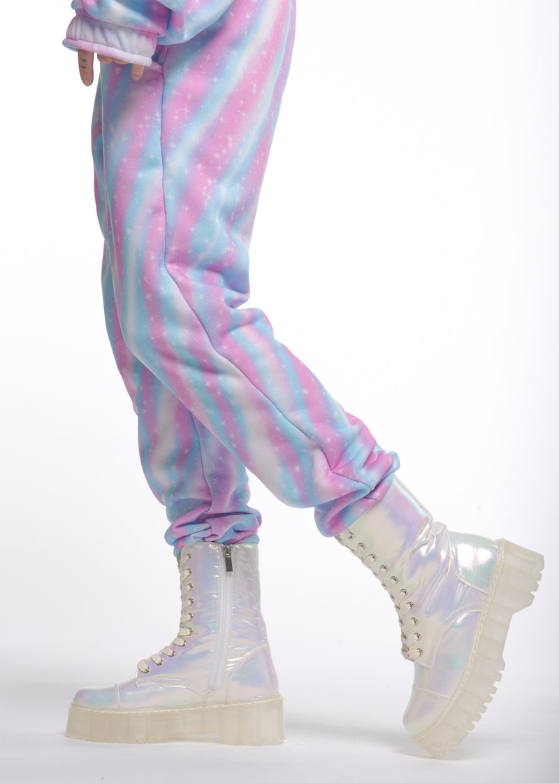 Never Taken em off Pastel Holo Sweatpants