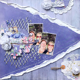 layout one of 3 in Trina's 3in1 scrapbook kit