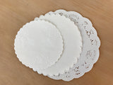 Mixed Doilies small circles