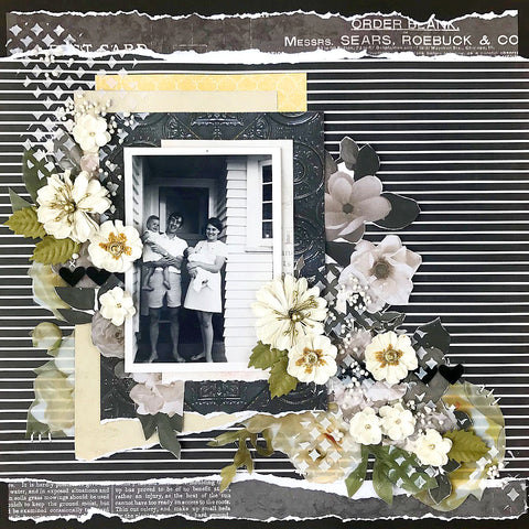 October 2018 - a heritage style scrapbooking kit