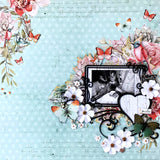"How to use Scrapmatts frames on a 12x12"" scrapbook layout"