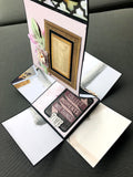 DIY mini album in a box craft kit using Bo-Bunny
