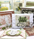 Create 10 cards with Trina's card making kit