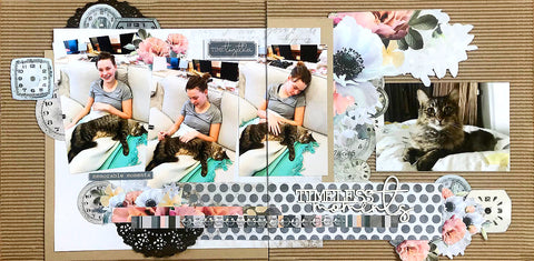 Single and double scrapbook pages kit - December 2018
