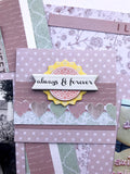 Bonus card for Feb TMD scrapbook kit