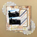 "November 18 TMD Scrapbook Kit - Six single 12x12"" scrapbook page layouts"