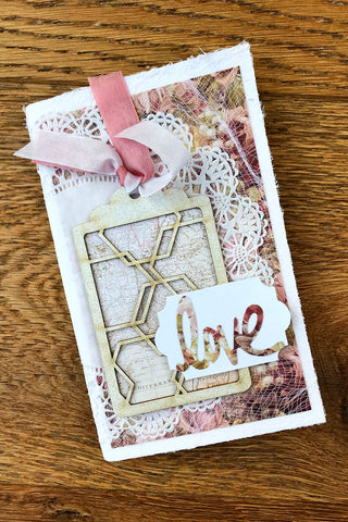 Use Trina's kit to create this decorative notebook