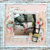 How can I make a scrapbook layout?