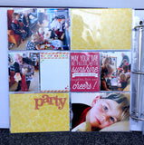 Remembering birthday's using Trina McClune's page kit