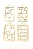 Chipboard tags designed by Trina McClune for scrapbooking