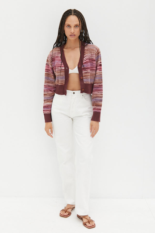 Cropped Cardigan - Candy