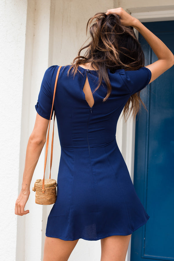Jacques Dress - Navy - Style Addict