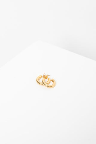 Bolt Studs - Gold Plated