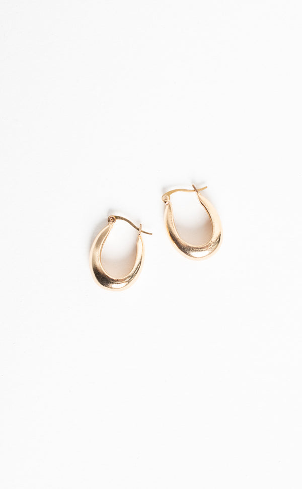 Small Auriel Earrings - Gold Plated