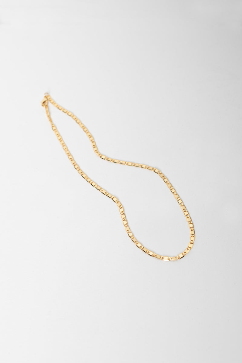 Wide Basic Chain - Gold Plated