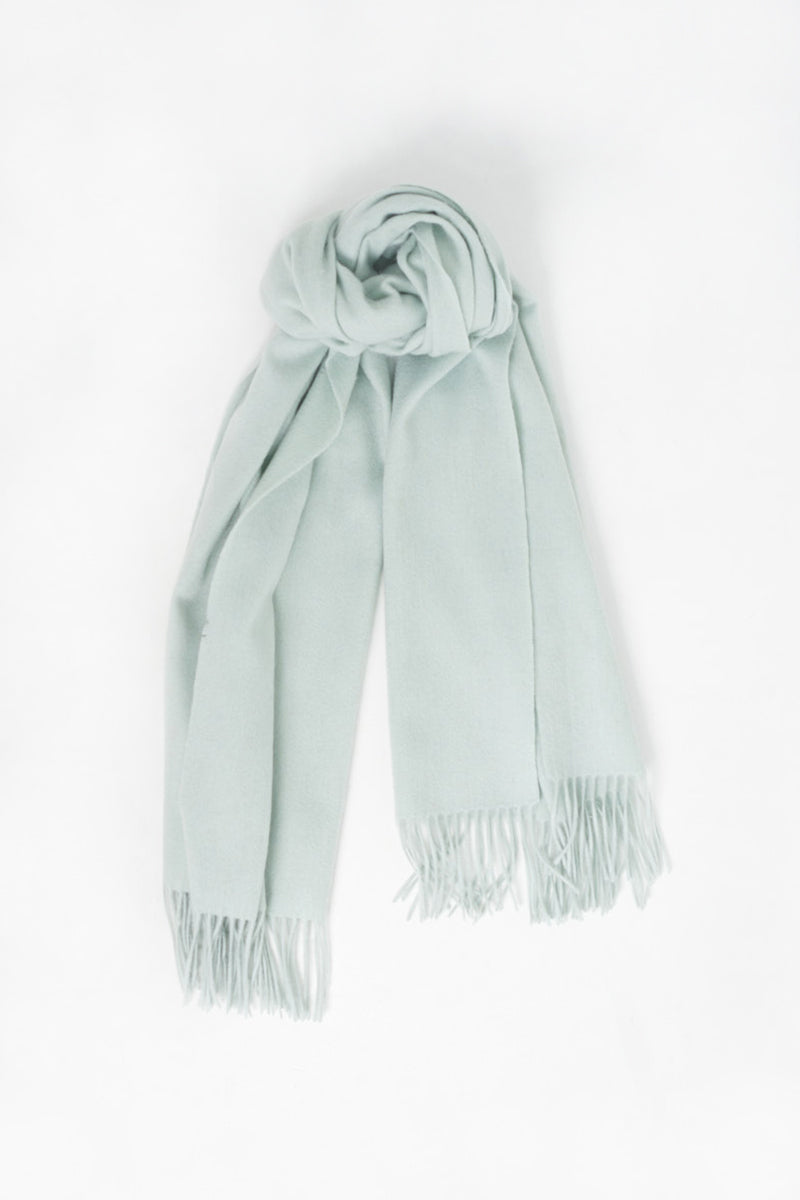 Wool Scarf - Mint