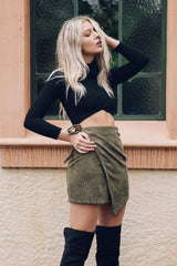Empire Wrap Skirt - Style Addict