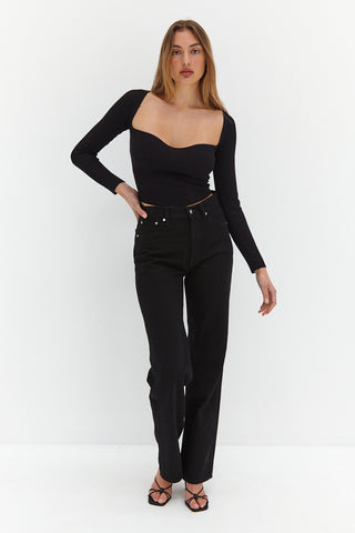 Camille Bodysuit - Black