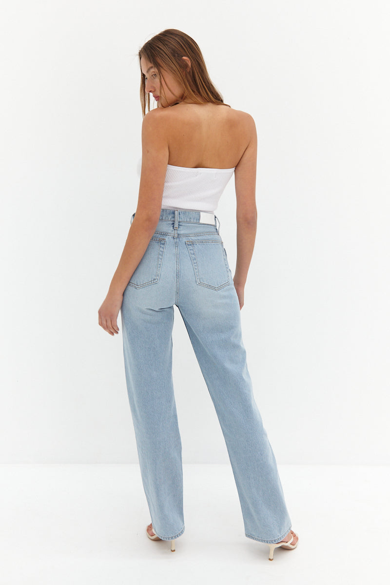 CORE Straight Leg Jeans - Blue
