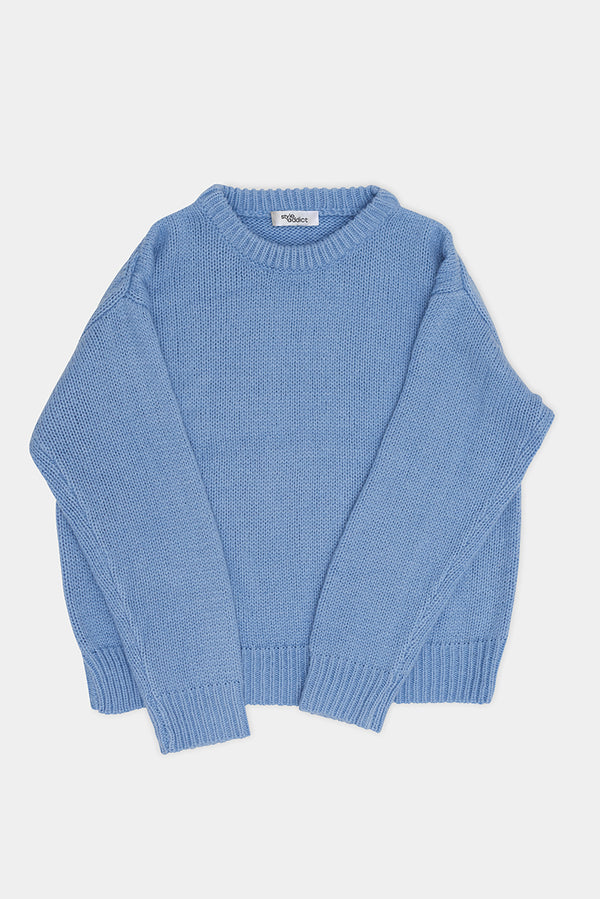 Knit Jumper - Baby Blue