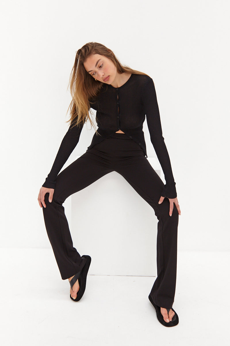 Legging Pants - Black