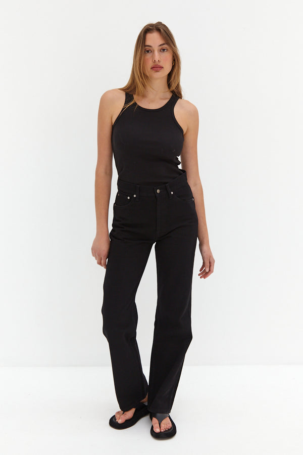 CORE Straight Leg Jeans - Black