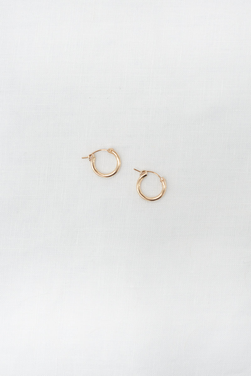 Mini Gold Hoops