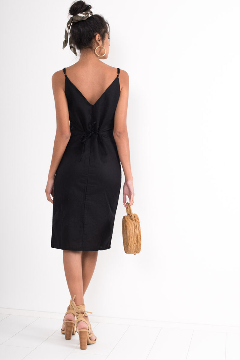 Emily Dress - Black - Style Addict