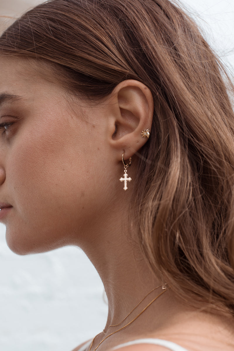 Lola Earrings - 14K GOLD - Style Addict