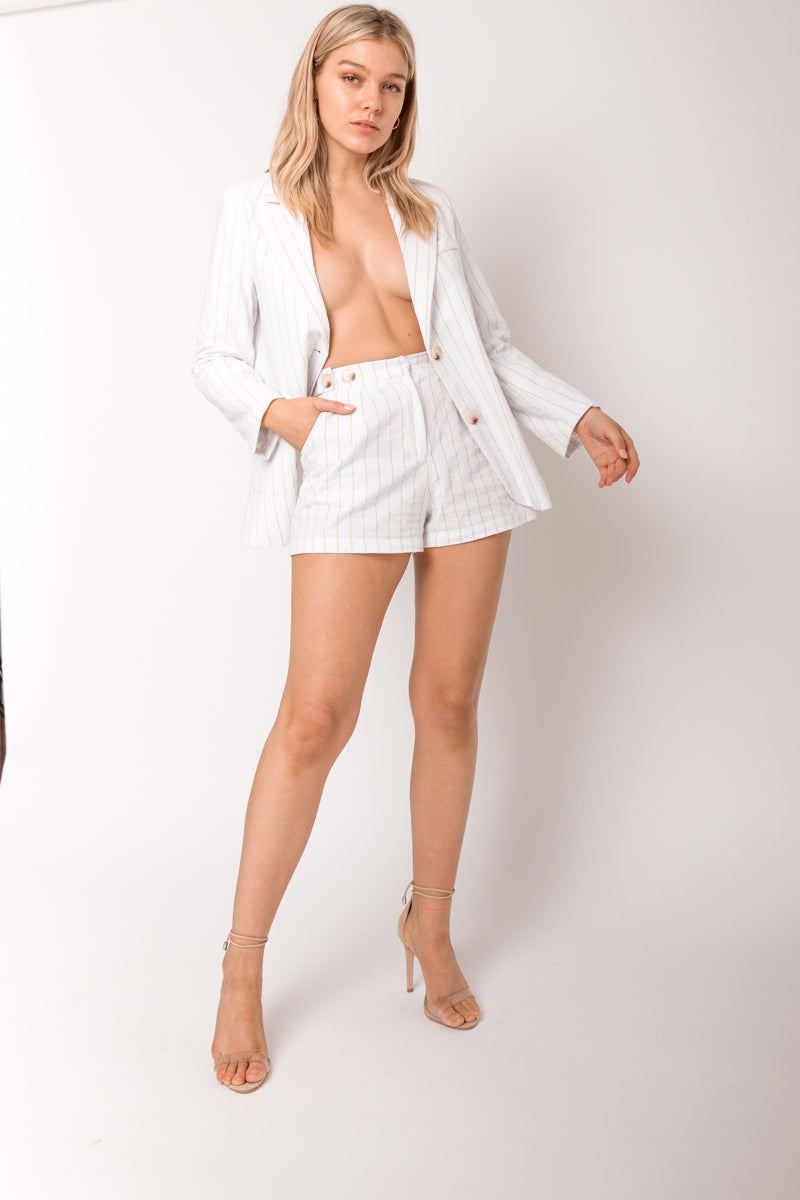 Billie Shorts - Linen - Style Addict