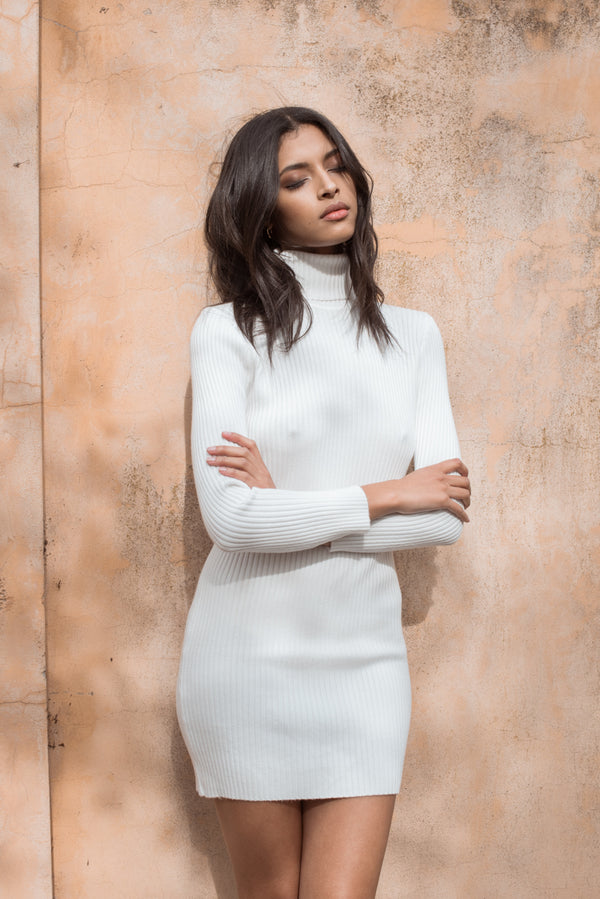 Elizabeth Dress - White - Style Addict