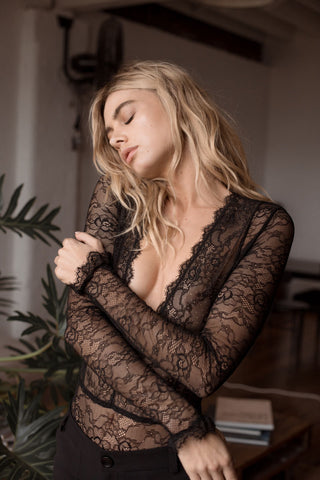 Jessica Bodysuit - Black