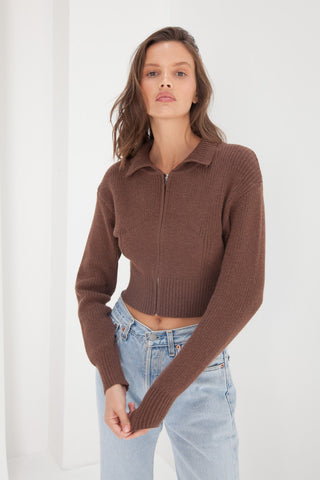 Oversized Jumper - Beige